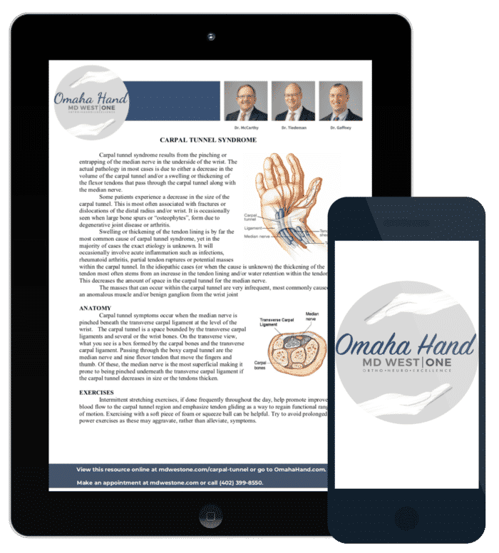 carpal tunnel resource