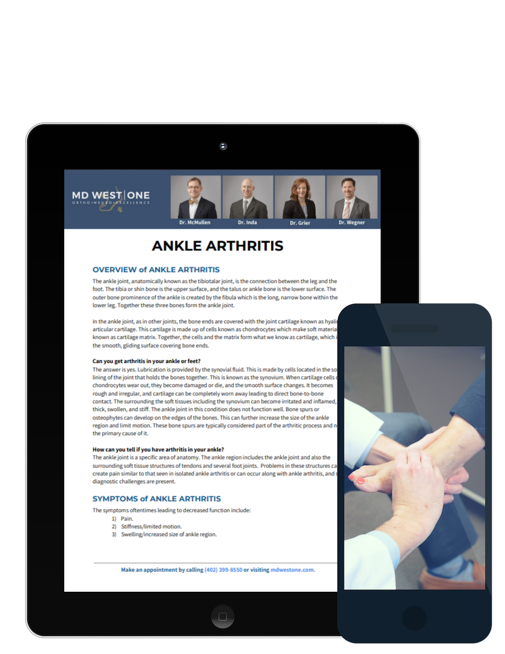 ankle arthritis resource download
