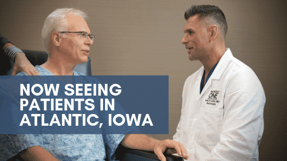 now seeing patients in atlantic iowa