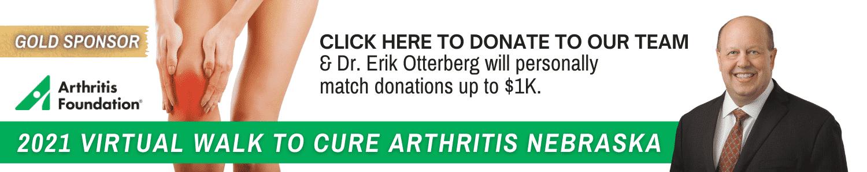 arthritis walk banner